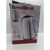Jarra calentadora de agua Breville Aluminio 1,7l -1-