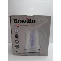 Jarra calentadora de agua Breville blanca 1,7l