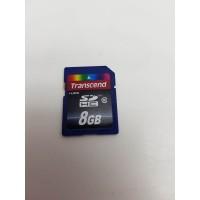 Tarjeta Memoria SD 8GB Transcend