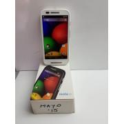 Movil Motorola E1 Libre Blanco -2-