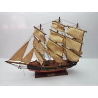 Barco Decorativo De Madera Regatin Siglo XVIII