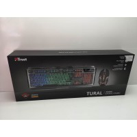 Kit Teclado y Raton Gaming trust Tural GXT 845