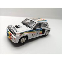 Scalextric Altaya Renault 5 Maxi Turbo Red Renault Madrid
