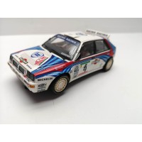Scalextric Altaya Lancia Delta Integrale Martini Defect