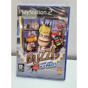 Juego PS2 Buzz! Que sabes de tu pais? PAL ESP Nuevo