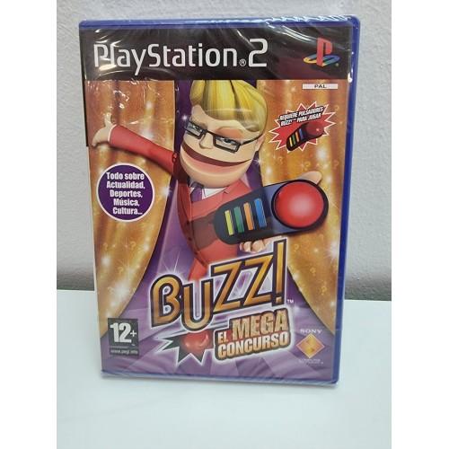 Juego PS2 Buzz! El Mega Concurso PAL ESP Nuevo