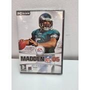 Juego PC Madden NFL 06 PAL ESP Nuevo