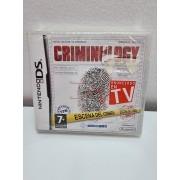 Juego Nintendo DS Criminology PAL ESP Nuevo -2-