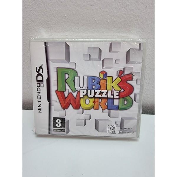 Juego Nintendo DS Rubik´s Puzzle World PAL ESP Nuevo -1-