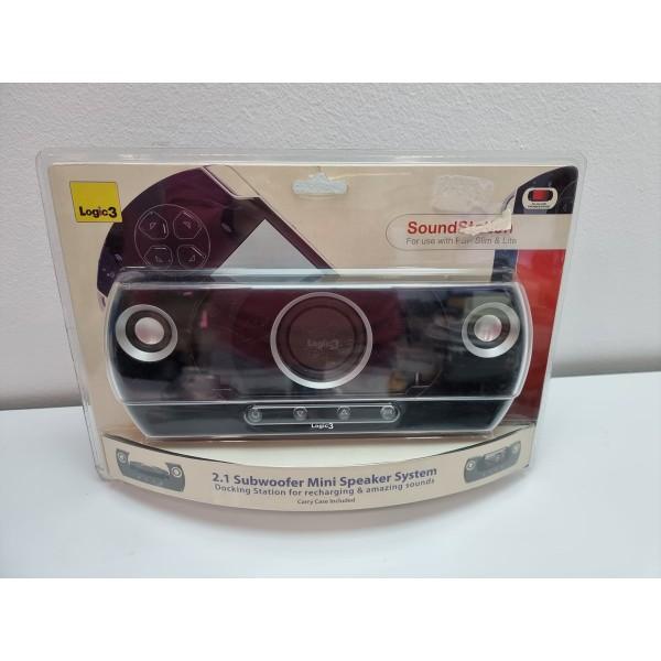 Altavoces Sony PSP Slim & Lite SoundStation Logic3 Nuevo -2-
