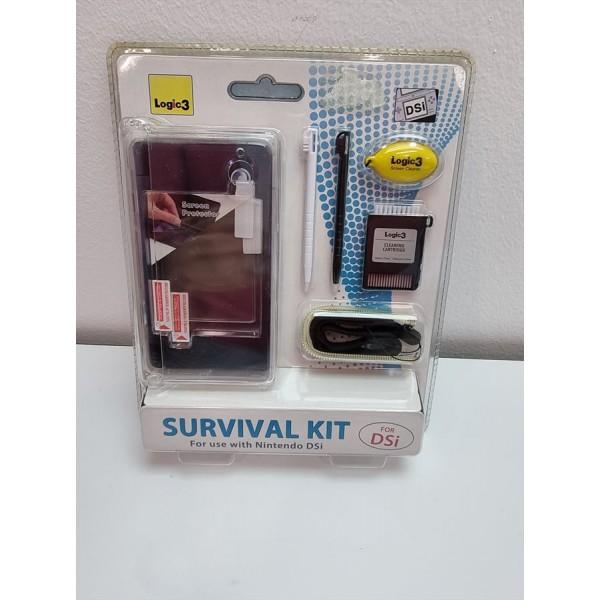 Kit Accesorios Nintendo Dsi Survival Kit Logic3 Funda+Lapices