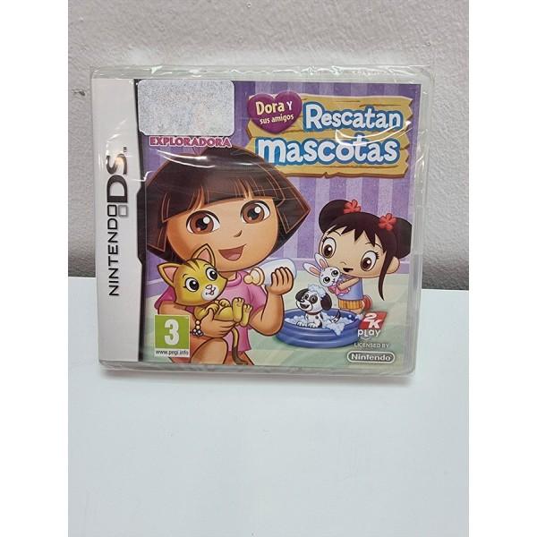 Juego Nintendo DS Dora Rescatan Mascotas PAL ESP Nuevo