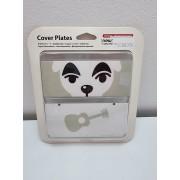 New Nintendo 3DS Cover Plates Animal Crossing Dog Guitar Nuevo