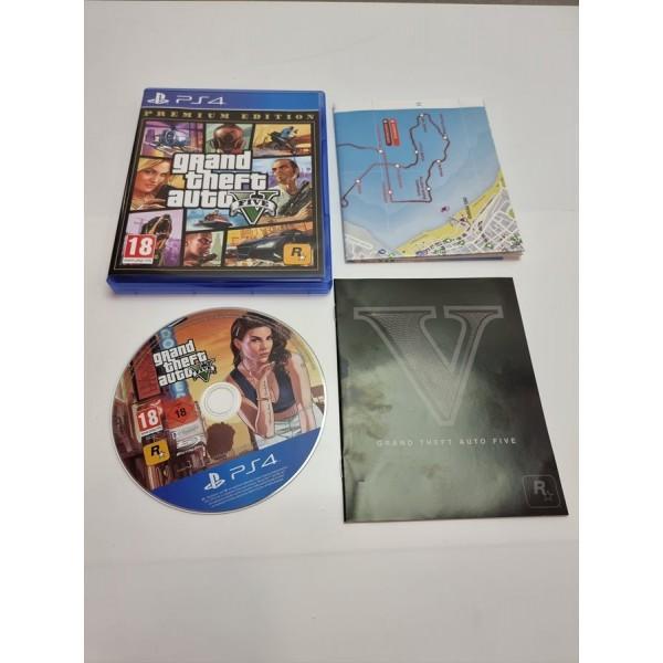Juego PS4 GTA V Premium Edition Completo