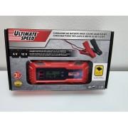 Cargador de Baterias 6-12v Ultimate Speed 5A Nuevo -1-