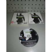 Juego PS3 Completo Call of Duty MW3 PAL ESP