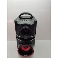 Altavoz Portatil Bluetooth Radio USB Neg/Roj