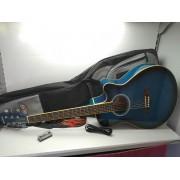 Guitarra Electroacustica Academy 05AE TBL con Accesorios