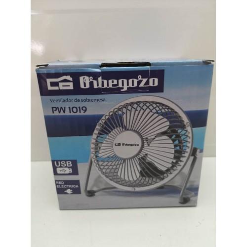 Mini Ventilador Orbegozo PW1019 USB y 220v Nuevo -1-