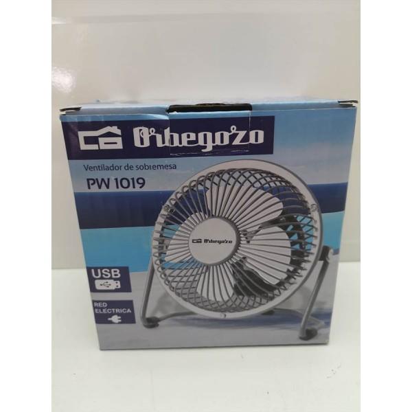 Mini Ventilador Orbegozo PW1019 USB y 220v Nuevo -2-