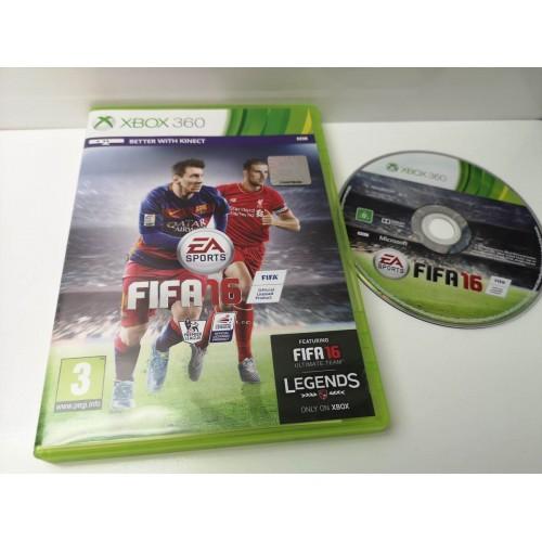 Juego Xbox 360 Completo Fifa 16