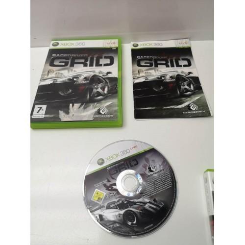 Juego Xbox 360 Completo RaceDriver Grid