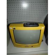 "Television CRT 14"" Sanyo con Mando"