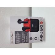 Auriculares Inalambricos Bluetooth SilverCrest Rojo -5-