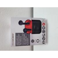 Auriculares Inalambricos Bluetooth SilverCrest Rojo -1-