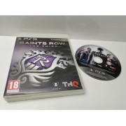 Juego PS3 en caja Saints Row The Third