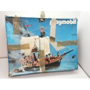 Caja Vacia Playmobil Barco Pirata