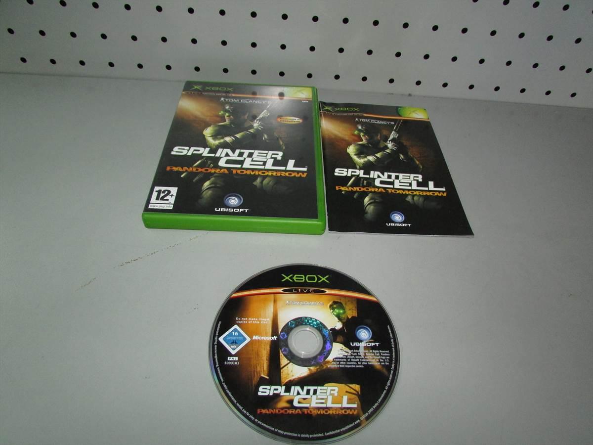 Juego Xbox Clasica Tom Clancys Splinter Cell Pandora Tomorrow Completo