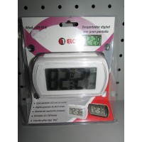 Despertador digital Elco ED-91B nuevo blanco