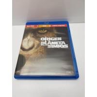 Pelicula Blu Ray El Origen del Planeta de los simios
