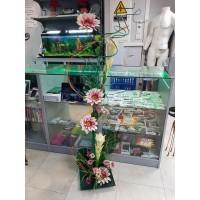 Columna Flores Decorativa