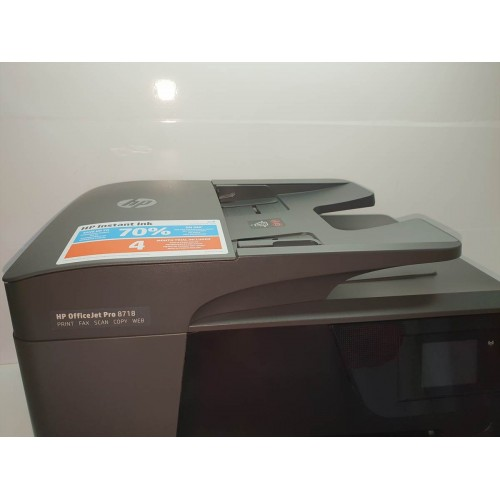 Impresora Multifuncion HP OfficeJet Pro 8718