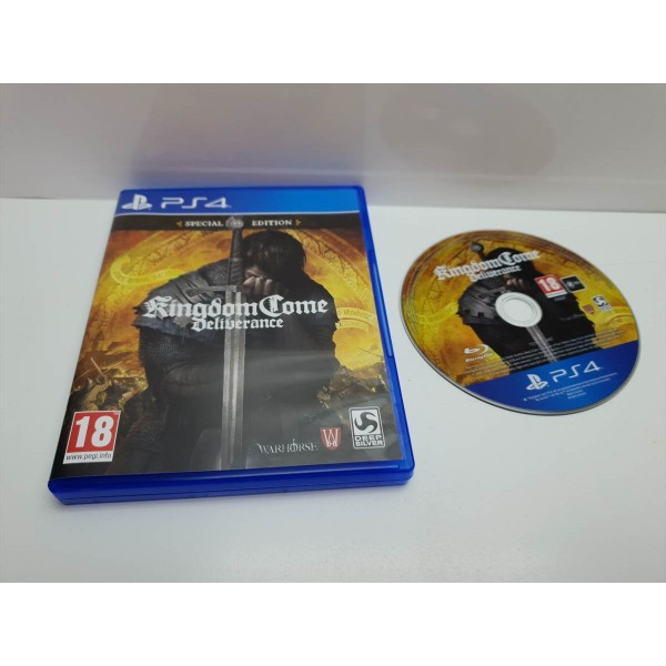 Juego PS4 Completo Kingdom Come Deliverance Complete Edition