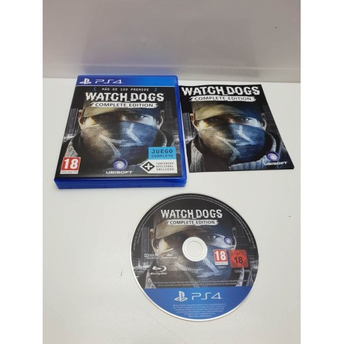 Juego PS4 Completo Watchdogs Complete Edition