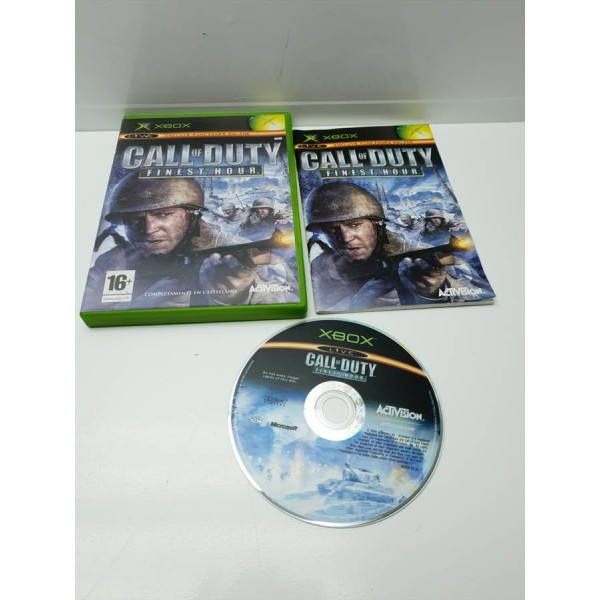 Juego Xbox Clasica Call of Duty Finest Hoyr Comp