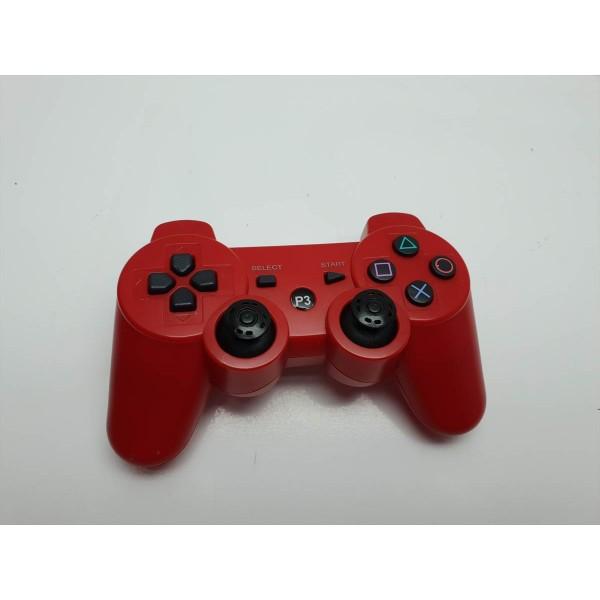 Mando Compatible PS3 Inalambrico Rojo