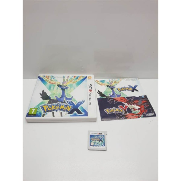 Juego Nintendo 3DS Pokemon X Completo