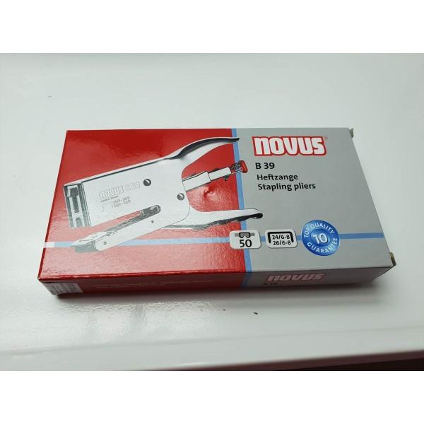 Grapadora de Mano Novus B39 Nueva -5-