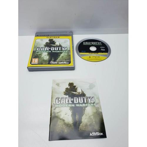 Juego PS3 Call of duty 4 Modern Warfare Comp
