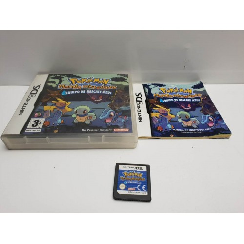 Juego Nintendo DS Pokemon Mundo Misterioso Comp