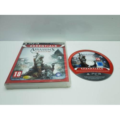 Juego PS3 Assassins Creed III Comp