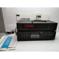 Amplificador A550 y Sintonizador T-1000 SANSUI Averiados