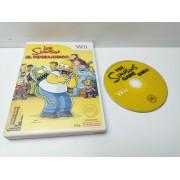 Juego Nintendo Wii Los Simpson