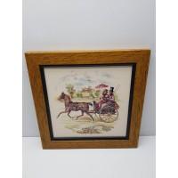 Cuadro Decorativo Coche de caballos