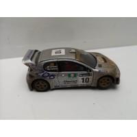 Coche Scalextric Peugeot 206 WRC efecto Barro
