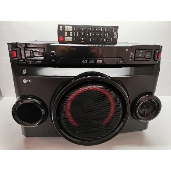 Equipo Sonido LG OM4560 USB CD Bluetooth Seminuevo